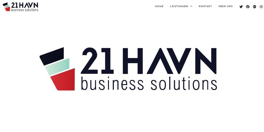 Unternehmens-Webseite